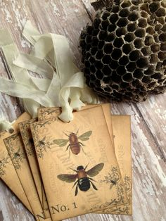 bee tags - wonderful for gifts. I Love Bees, Birds And The Bees, Buzz Bee, Bee Skep, Bee Art, Bee Happy, Save The Bees, Bees Knees, Queen Bees