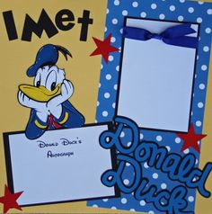 Mickey Mouse & Friends - make cards instead of autograph book???