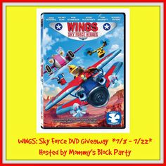 Ends 7/22- Mommy's Block Party: WINGS: SKY FORCE HEROES DVD #Review + #Giveaway