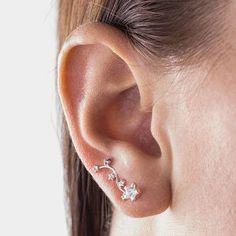 Sterling Silver Constellation Earrings - women's jewellery