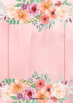 Section Photo Floral Fleur Contexte Flower Background Wallpaper, Framed Wallpaper, Leaf Background, Flower Backgrounds, Background Patterns, Colorful Backgrounds, Pink Floral Background, Simple Background Images, Wedding Background Images