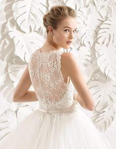 Coleção de vestido de noiva Rosa Clará 2017