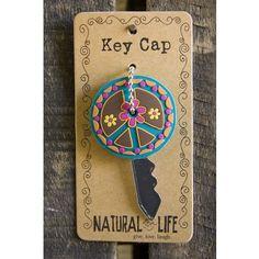 Peace Sign Key Cap From Natural Life #naturallife #pinittowinit #pinhappy