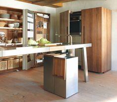 Bulthaup b2 kuchenwerkbank und werkschranke in einem for Küchenwerkbank