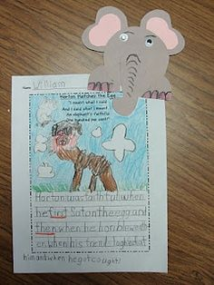 Horton Activity- Adorable!