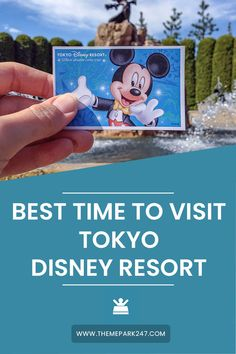 Tokyo is home to two amazing Disney parks - but when is the best time to visit Tokyo Disney? We're sharing important dates and seasons to look out for. Japan Travel Guide, Tokyo Travel, Asia Travel, Travel Guides, Florida Travel, Travel Abroad, Disneyland Secrets, Tokyo Disneyland