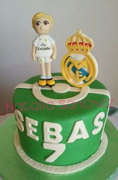 Tarta real Madrid chocodant