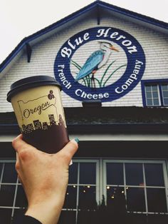 Blue Heron French Cheese Company - Tillamook, Oregon. Oregon Coast