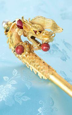 Korean Traditional Dress, Traditional Fashion, Traditional Outfits, Korean Hanbok, Korean Dress, Korean Accessories, Hair Accessories, Korean Dragon, Asian Hair Pin