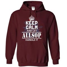 awesome ALLSOP Gifts - It's a ALLSOP Thing, You Wouldn't Understand Hoodies T-Shirts