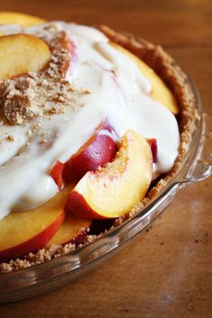 Annie's Grandma's Fresh Peach Pie