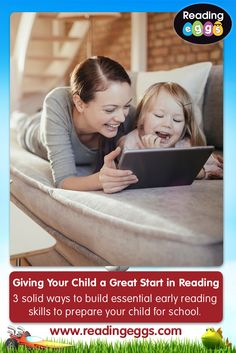 Give your child a great start in their reading with these fun and highly effective activities.