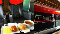 International Railjet Train RJ 64 Budapest-keleti pu - Wien Hauptbahnhof in Business Class; Train is continuing from Vienna to Linz, Salzburg and Munich; Virtual Field Trips, Business Class, Salzburg, Vienna, Budapest, Tours, Linz, Central Station