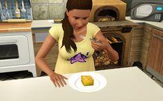 Jo eating cornbread or cake while pregnant?