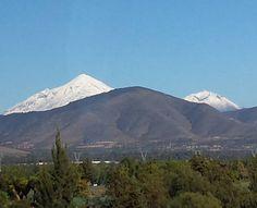 On instagram by marapc17 #landscape #contratahotel (o) http://ift.tt/207nCAO el volcán Citlaltépetl o Pico de Orizaba y el Sierra Negra cubiertos de blanco hermosura de paisaje... #volcanes #puebla #mexico #paisajes