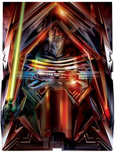 Stunning Collection of STAR WARS Vector Art by Orlando Arocena