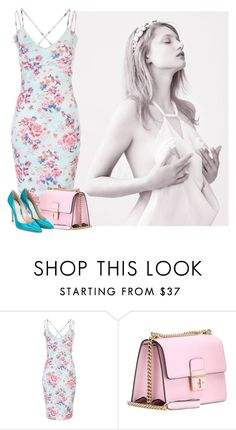 """""""#378"""" by riozannat ❤ liked on Polyvore featuring Dolce&Gabbana and Gianvito Rossi"""