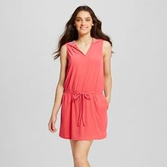 088e7ff60f055 Catalina Womens French Terry Halter Swim Cover Up Dress Walmart  14 ...