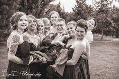 wedding photographer, photographer, love, photography, wedding photography, bw, silly, edge-e, eric, fun, edge-e photography, group, www.edgeephotography.com, getting hitched, Black & White, posed, goofy, in love, outdoors, wisconsin, wedding day, edgeephoto, wedding, posed shots, eau claire, beautiful, the big day, funny, post-ceremony, getting married, www.edgeephoto.com, edgy, group shots, black and white, edgee, outside, Alisa Polzin, Andria Obermiller, Krystal Olson, Nikki Schorer…