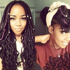 Crochet Goddess Faux Locs : ... faux goddess locs more colorful faux locs goddess faux locs crochet