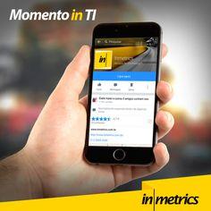 Momento in TI  Você sabia que 90% das mensagens de texto são lidas dentro de três minutos após serem entregues? E você? Leu esta mensagem quanto tempo após a publicação?  #Inmetrics #TI  #tecnologia