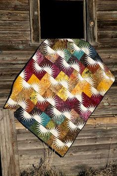 """Cut Loose Press Patterns are a one page, copy protected, double-sided, hole punched pattern that requires additional purchase of notions and tools to complete. This makes a 48"""" X 60"""" quilt. You will n"""