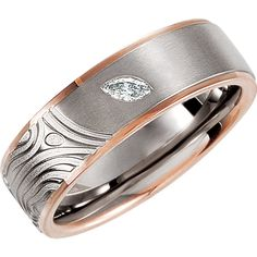 .07 ct Diamond Designer Band | Stuller.com- Available at Murphey the Jeweler.