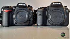 Nikon D7000 versus Canon EOS 7D - Größenvergleich Nikon D7000, Canon Eos, Accessories, Reflex Camera, Products, Jewelry