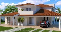 Sobrados lindos!     Na arquitetura moderna se torna inviável construir uma casa sem garagem, pois hoje a maioria das pessoas possuem alg...