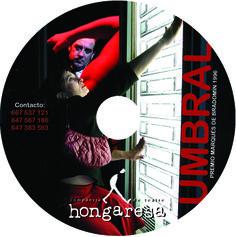 """Galleta DVD promocional: """"Umbral"""" de Paco Zarzoso."""