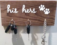 Dog Leash Hook Dog Leash Holder Dog Leash Hanger Leash Hook Paw Print Dog Gifts Gifts for Pets Pet Supplies Pet Storage Puppy Gifts DIY Wood Signs DOG Gifts Hanger holder Hook leash Paw Pet pets Print Puppy Storage Supplies Puppy Gifts, Dog Gifts, Dog Leash Holder, Stuffed Animal Storage, How To Distress Wood, First Home, Home Projects, Diy Projects To Sell, Wood Signs