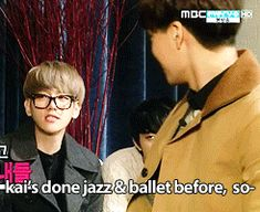 Cute Moment on EXO Showtime~