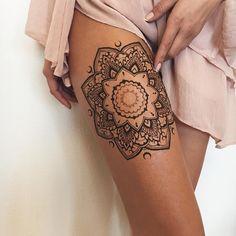 36 Perfect Mehndi Tattoo Designs by Veronica Krasovska - Tattoo Ideas & Trends Mehndi Tattoo, Hand Tattoo, Henna Tattoo Designs, Tattoo Designs For Women, 10 Tattoo, Tattoo Motive, Henna Tattoos, Tatoos, Trendy Tattoos