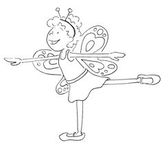 ballet positions coloring pages printable coloring pages