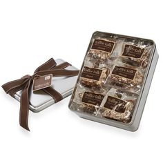 Toffee Talk: Share Tin, Almond Toffee 16 Individually Wrapped Pieces 16 oz. #MarthaStewartAmericanMade