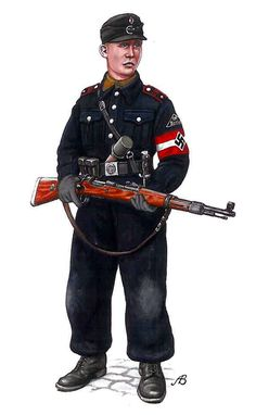 A Kameradschaft-Führer of HJ Berlín, April-May,