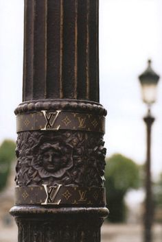 ~ L.V. Lamp Post in Paris | The House of Beccaria