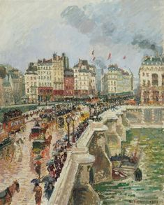 As we all come to terms with the new reality, we explore how great artists of the past communicated their feelings about the world beyond their windows Pierre Bonnard, Pierre Auguste Renoir, Famous Artists, Great Artists, Famous Impressionist Paintings, Camille Pissarro Paintings, Mall, Paul Gauguin, Oil Painting Reproductions