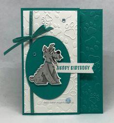Birthday Photos, Birthday Cards, Happy Birthday, Animal Birthday, Petunias, Embossing Folder, Irene, Stampin Up, Paper Crafts