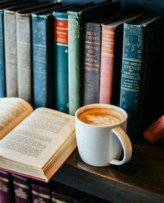 Books and coffee are a Daily must have