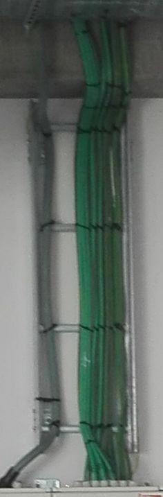 Verbetering: De groene draden vormen allemaal verschillende lijnen.