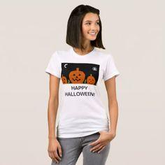 Womens white halloween t shirt - fun gifts funny diy customize personal