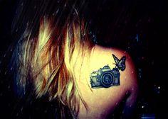 camera tattoos 21 Camera Tattoos
