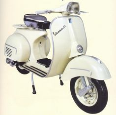 Vespa! Who didn't want one of these after seeing 'Roman Holiday'.