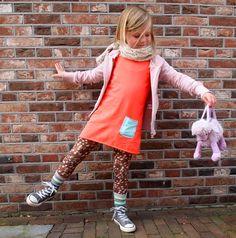 #Hippe kids #Kidsfashion #Kindermodeblog  Just the dress / colors!
