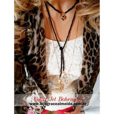 Novidades na loja virtual, para quem gosta de um look mais moderno e antenado. COLAR BOHEMIAN JET www.lojagracealmeida.com.br #acessoriees #bijuteriasemcuritiba #curitiba #blogdemoda #blogger #chic #estilo #fashionismo #fashionstyle #fashionblogger #fashionjewelry #fotografia #fashionblog #fashion #gracealmeidabijoias #glam #hippiechic #habdmade #healthylifestyle #cristais #necklaces #lookdodia #instafashion #inverno2015 #streetstyle #style #joias #moda #trend #spring