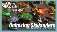 Unboxing the Skylanders Imaginators Crash Bandicoot Starter Pack  I bought the PS4 Skylanders Imaginators Starter Pack because it has Crash Bandicoot and Dr. Neo Cortex in it and also a regular Golden Queen and regular King Pen. I received the Dark Edition for the Wii U from Activision when the game launched. However, I still wanted regular versions of the characters. I got the game for a good price so I bought it. I also bough the The Enchanted Elven Forest Adventure Pack with Master Boom…