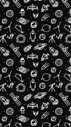 Planets Wallpaper, Pop Art Wallpaper, Phone Screen Wallpaper, Wallpaper Space, Tumblr Wallpaper, Aesthetic Iphone Wallpaper, Galaxy Wallpaper, Cellphone Wallpaper, Black Wallpaper