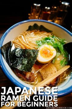 How much do you know about RAMEN, the popular Japanese noodle dish that took the world by storm? Read this Japanese Ramen Guide to test your knowledge. Also, don't miss our recommendations for the best ramen shops in Tokyo! Japanese Noodle Dish, Japanese Ramen Noodles, Japanese Dishes, Japanese Food, Japanese Pickles, Traditional Japanese, Easy Japanese Recipes, Asian Recipes, Healthy Recipes