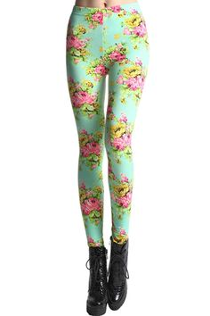 legginz.com floral print leggings (12) #cuteleggings